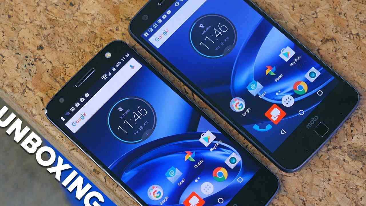 Moto Z and Moto Z Force Double Unboxing and Impressions