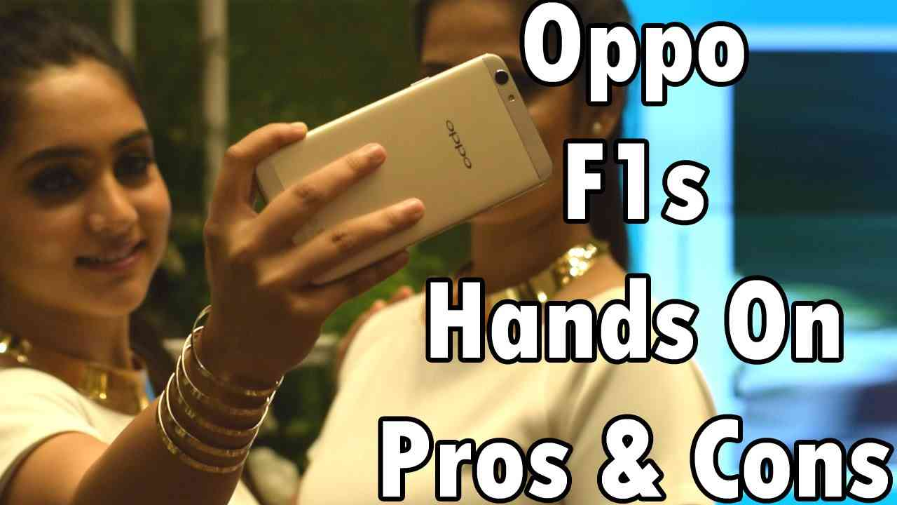 Oppo F1s Hands On: Pros and Cons of the 'Selfie Expert'