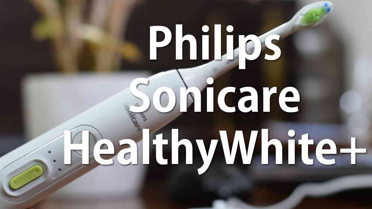 Philips Sonicare HealthyWhite+ toothbrush Review