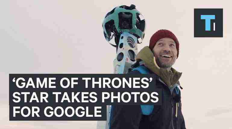 'Game of Thrones' star photographed Greenland for Google Street View