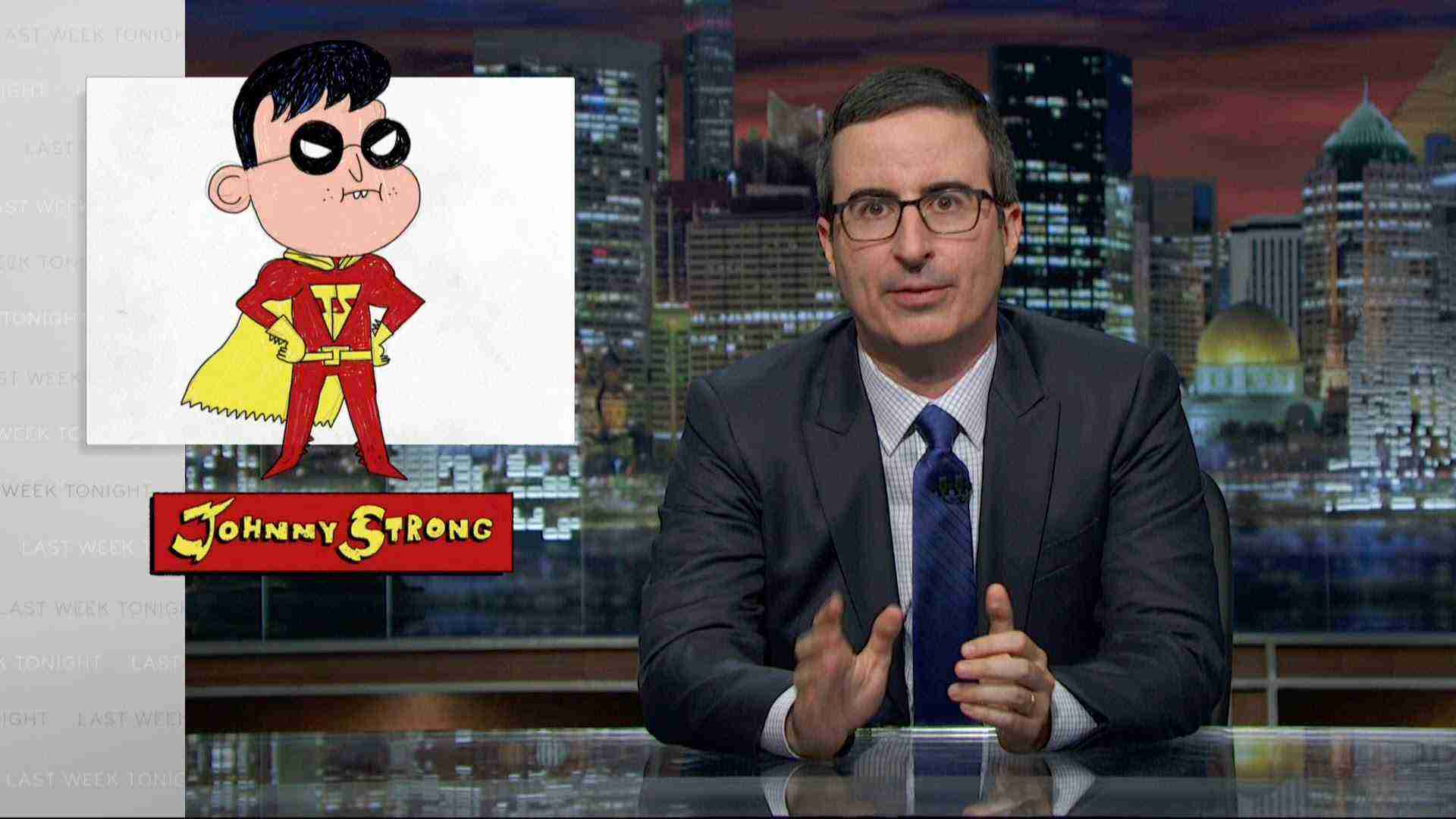 Johnny Strong: Last Week Tonight with John Oliver (Web Exclusive)