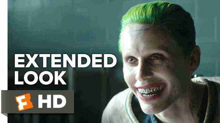 Suicide Squad – Joker Extended Look (2016) – Jared Leto Movie