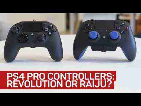 The pros and cons of PlayStation 4's pro controllers