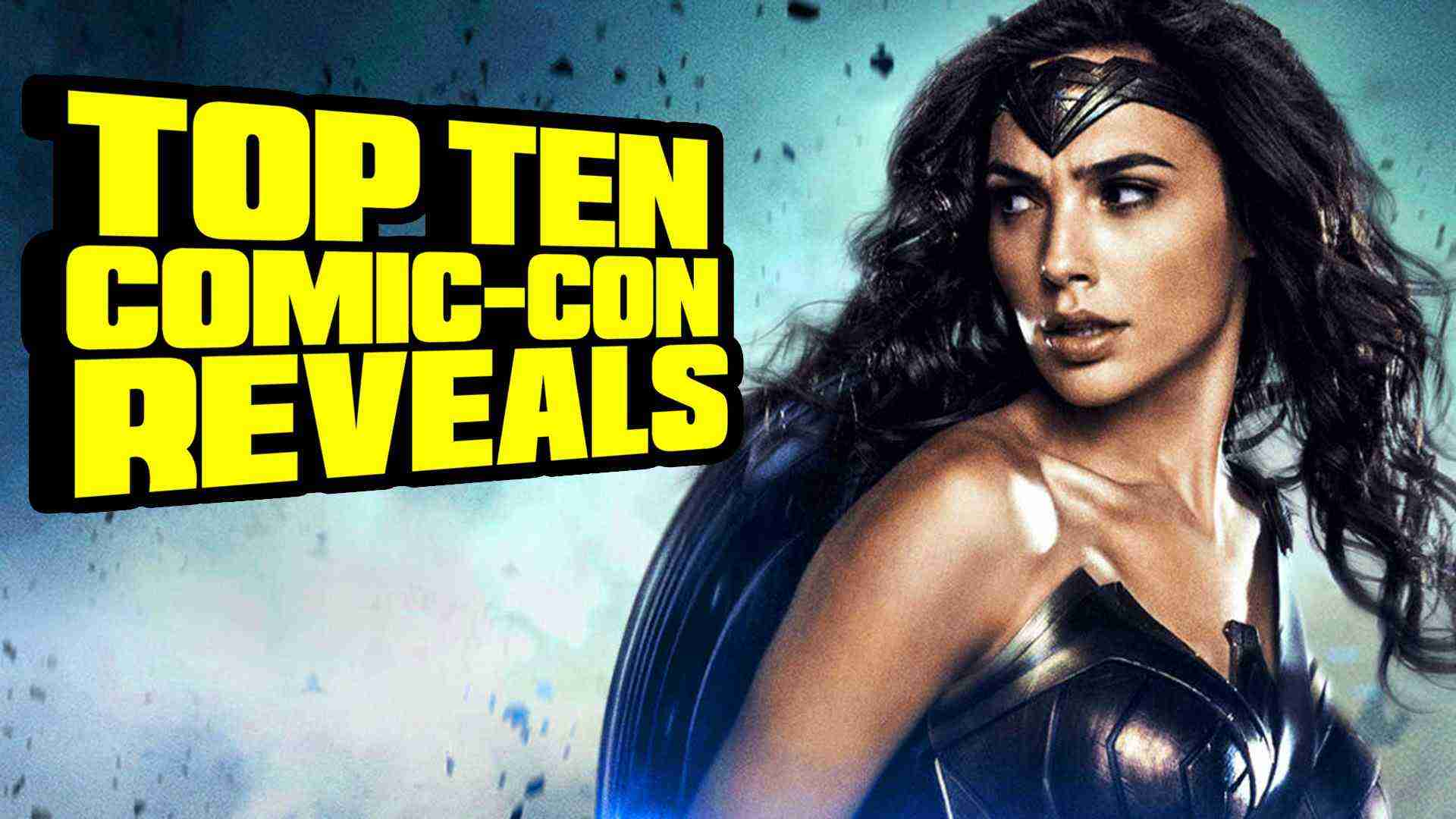 Top Ten Comic Con 2016 Reveals – TenFTW