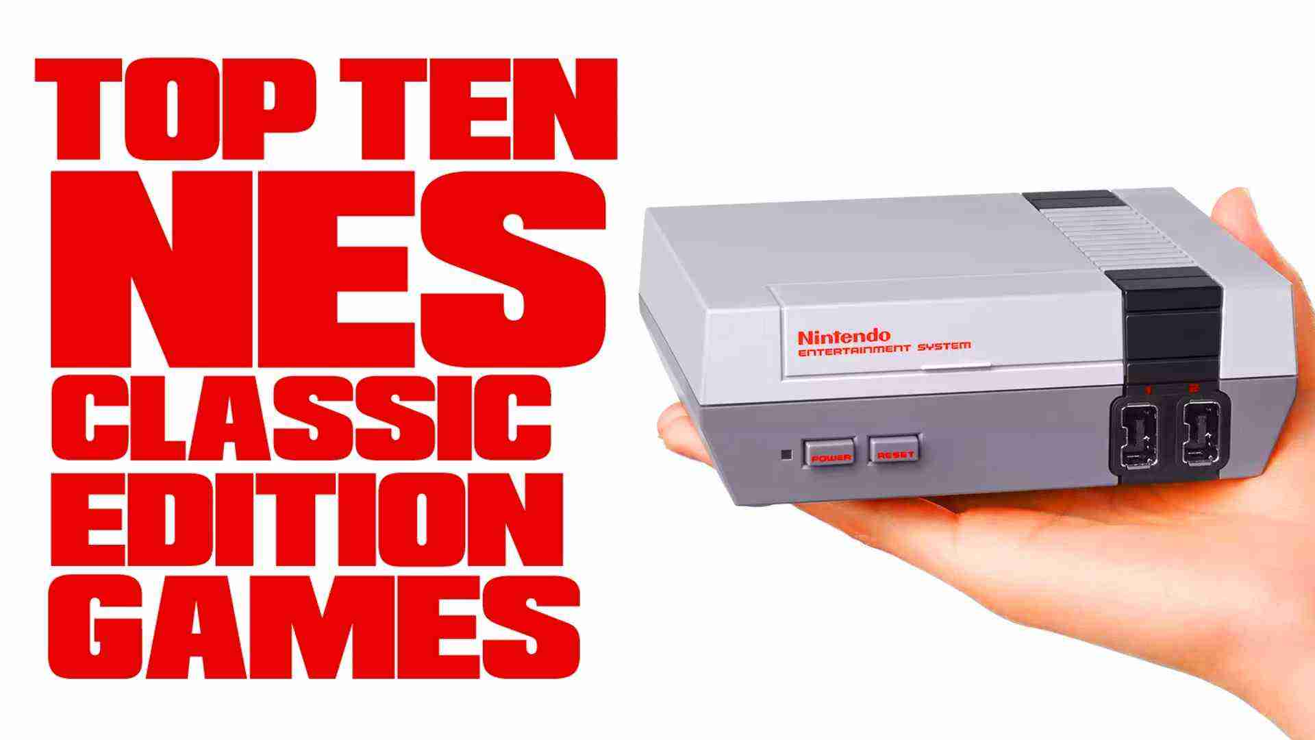 Top Ten Games On The NES Classic Edition – TenFTW