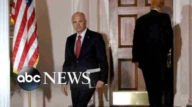 Trump Secretary of Labor pick Andrew Puzder Withdraws Nomination