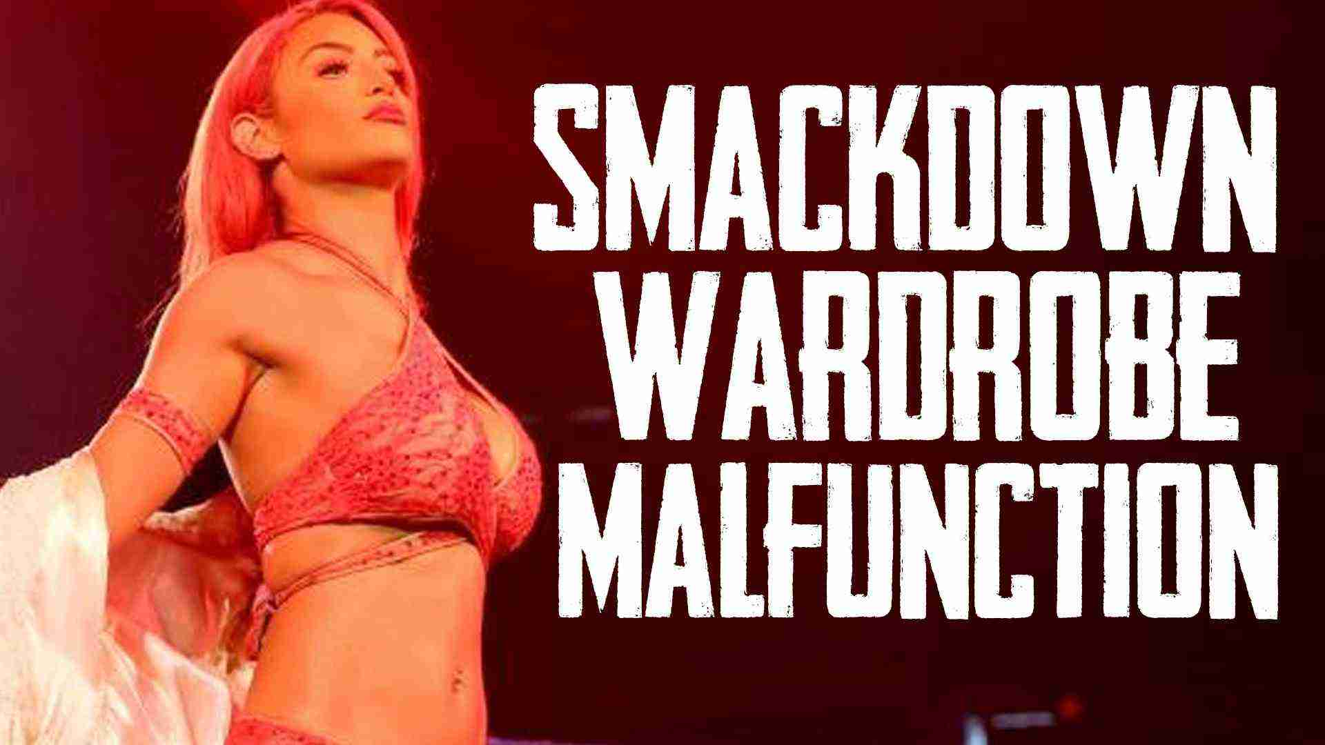 WARDROBE MALFUNCTION! (WWE Smackdown Live Recap and Results 8/9/16 w/ Steve and Larson)