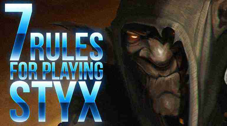 7 Rules for Playing Styx – Shards of Darkness