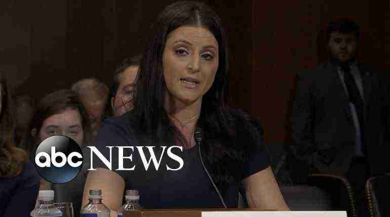Former Olympic gymnasts testify before Congress about sex-abuse scandal