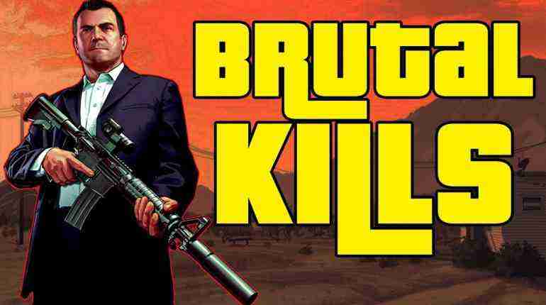 GTA 5 Funny/Brutal Kill Compilation Vol.103