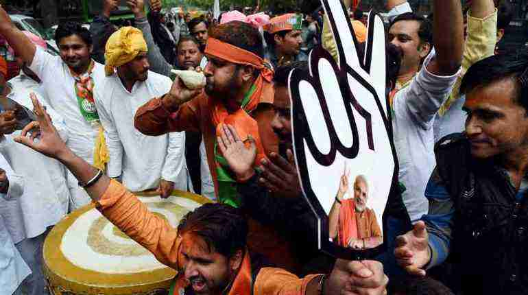 Indian PM Modi leads BJP to landslide victory in state elections