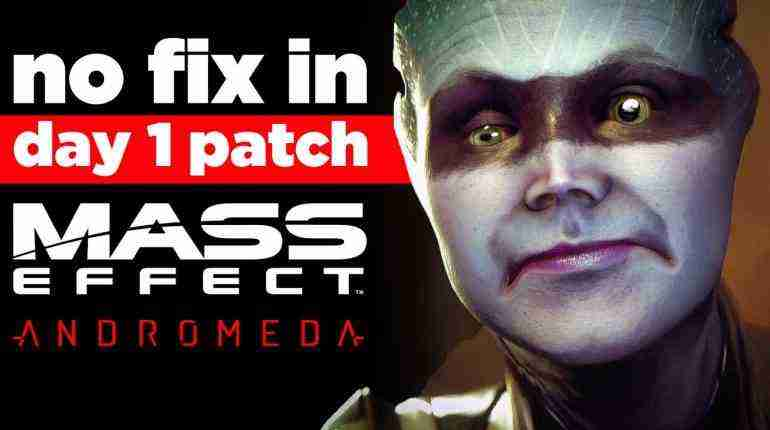 No Day 1 Patch for Facial Animations in Mass Effect Andromeda – Gaming News