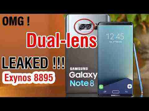 Samsung Galaxy Note 8 (Dual Camera,4K,Exynos 8895) Latest RUMORS & LEAKED – March, 2017