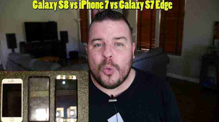 Samsung Galaxy S8 vs iPhone 7 vs Galaxy S7 Edge | Galaxy S8 Official Commercial | S8 Bixby Official