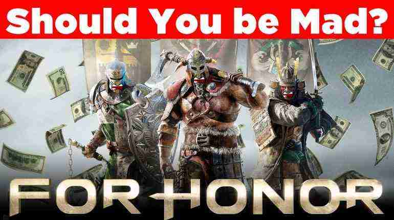 Should You be MAD at For Honor? – Gaming News