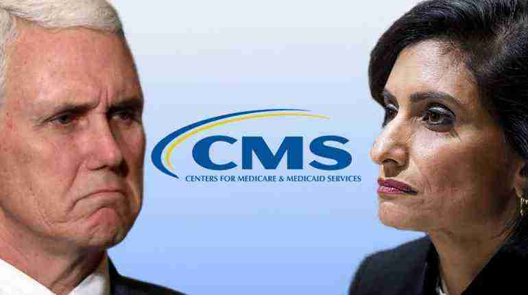 ★ Vice President Mike Pence Participates in the Swearing-in of the Administrator of CMS, Seema Verma