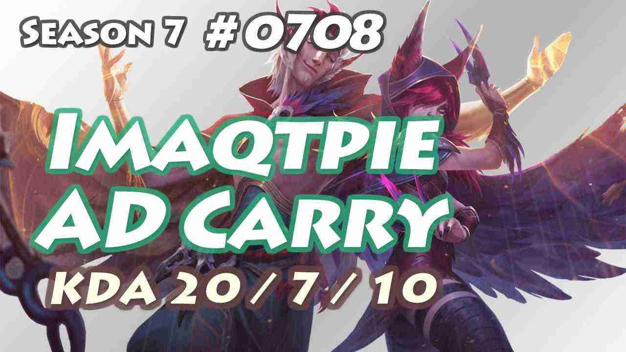 Imaqtpie – Xayah with Rakan Support – NA LOL Challenger 476LP