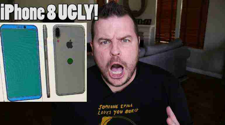 iPhone 8 is UGLY! | iPhone 8 Under Display Fingerprint Problems | Galaxy S8 Preorder FREE GIFT!