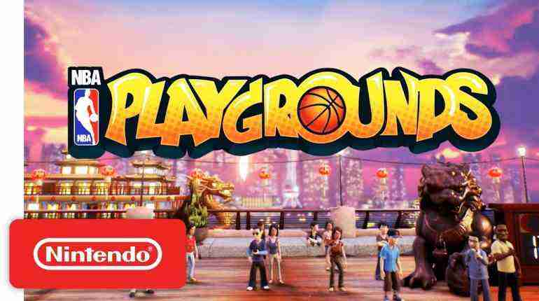 NBA Playgrounds Reveal Trailer – Nintendo Switch