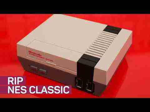 Nintendo NES Classic is being discontinued