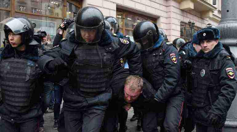 Russian police arrest 29 at Moscow opposition rally