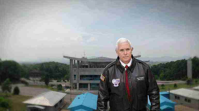 US VP Mike Pence's DMZ visit a show of support to South Korea
