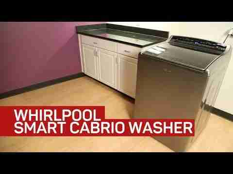 Whirlpool's Wi-Fi washing machine is actually smart