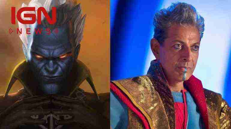 Why Jeff Goldblum Doesn't Resemble Marvel Comics' Grandmaster in Thor: Ragnarok – IGN News