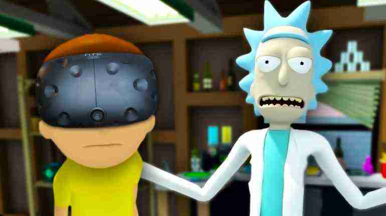 WUBBA LUBBA DUB DUB | Rick And Morty VR (HTC Vive Virtual Reality)